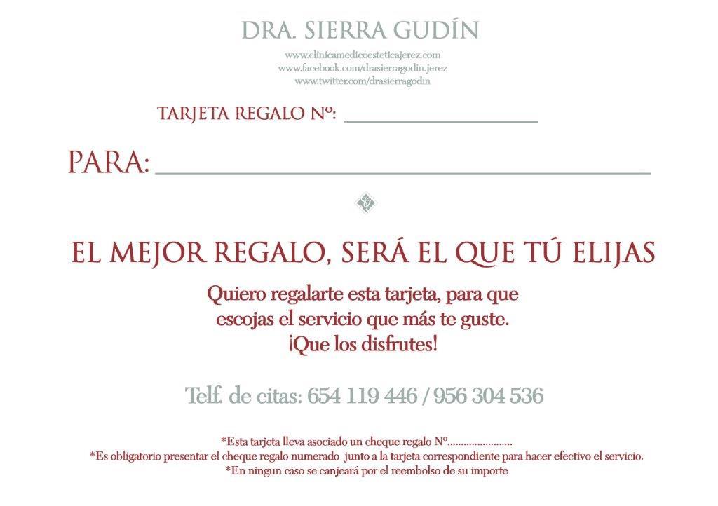 Tarjetas Cheques Regalo Salud